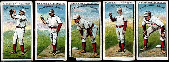 The Illustrated History Of Baseball Cards The 1800s Cycleback